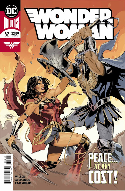 """Wonder Woman"" núm. 62 de G. Willow Wilson. - DC Comics"