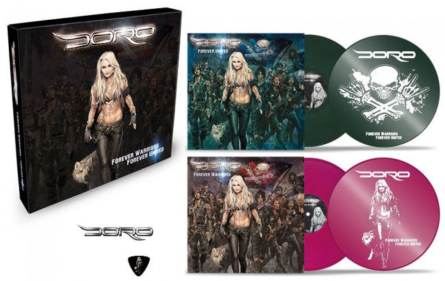 DORO - Forever Warriors / Forever United (2018) discs