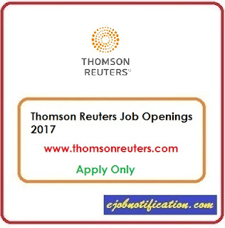 Network Engineer Openings At Thomson Reuters Freshers jobs in Bangalore Apply Online