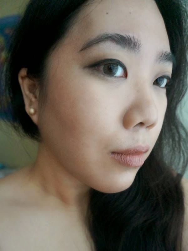 Cheekbones! with the help of NARS and Revlon