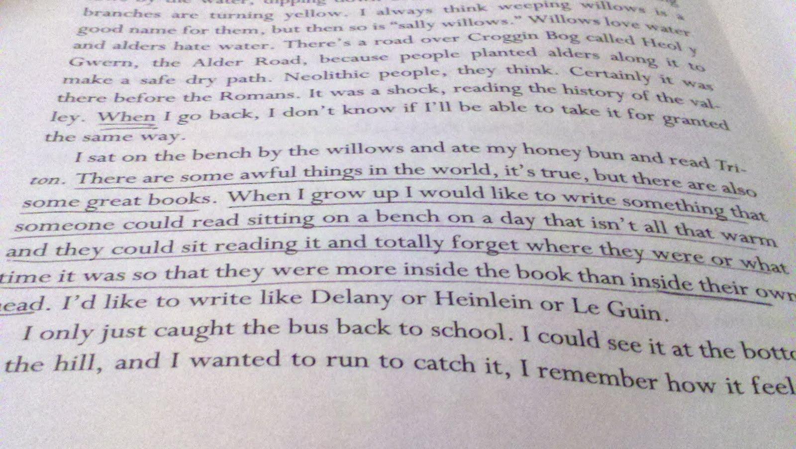 True Confession I Write In My Books