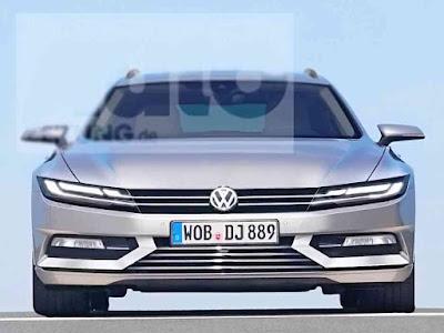 2019 Volkswagen Passat render