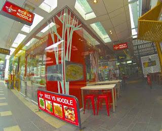 RICE VS NOODLE Restaurant Cavill Lane