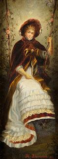 Hans Brunner (1813-1916) - Дама из прекрасной эпохи