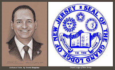 Mohamad Yatim. Past Grand Historian. Grand Lodge of New Jersey. by Travis Simpkins