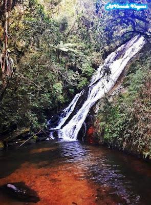 Cachoeira do Meio na trilha da Cachoeira do Fundo Vale do Matutu Aiuruoca