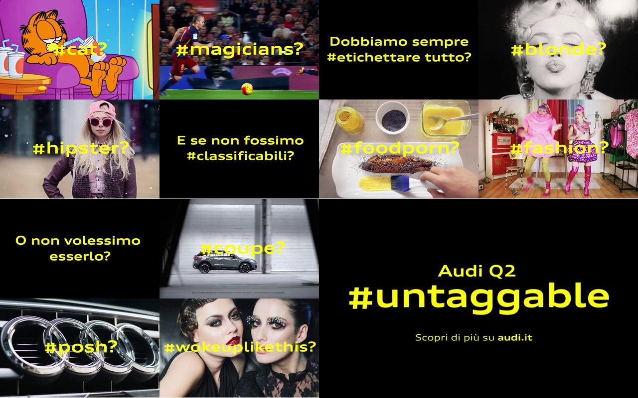 pubblicità e musica audi q2 #untaggable