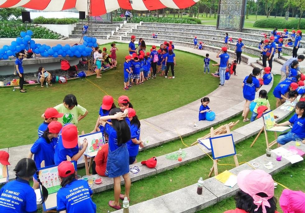 Một sự kiện tại công viên Yên Sở thuộc Gamuda City.