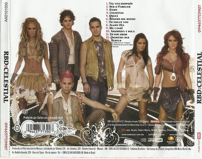 cd rebelde celestial espanhol