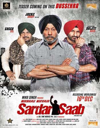 Sardar Saab 2017 Punjabi 720p HDRip x264