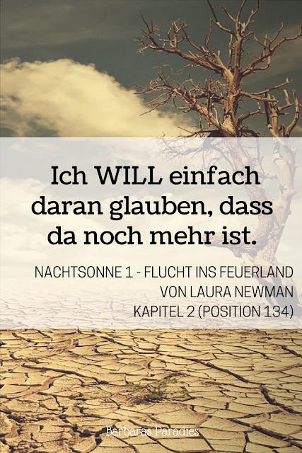 Buchrezension #152 Nachtsonne 1 - Flucht ins Feuerland von Laura Newman