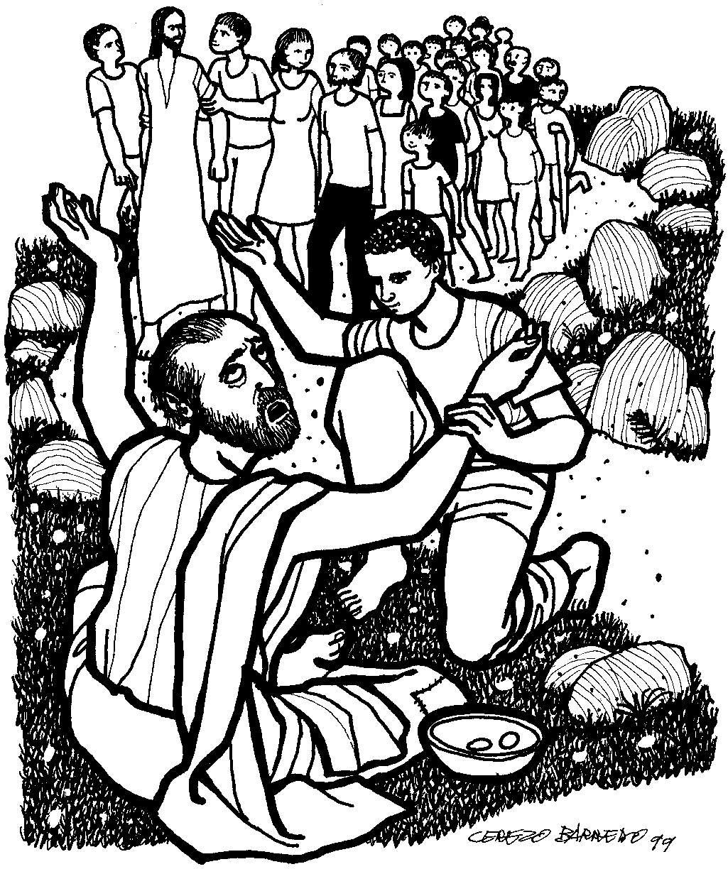 Comentario Evangelio Dominical 30o Domingo Mc 10 46 52