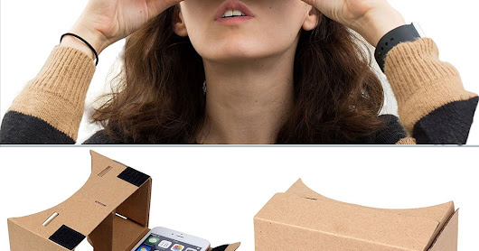 Amazon Offer: Buy DMG Google VR Cardboard Kit with straps worth Rs.699 At Just Rs.149