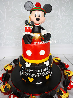 best Mickey Mouse Cake and Cupcakes