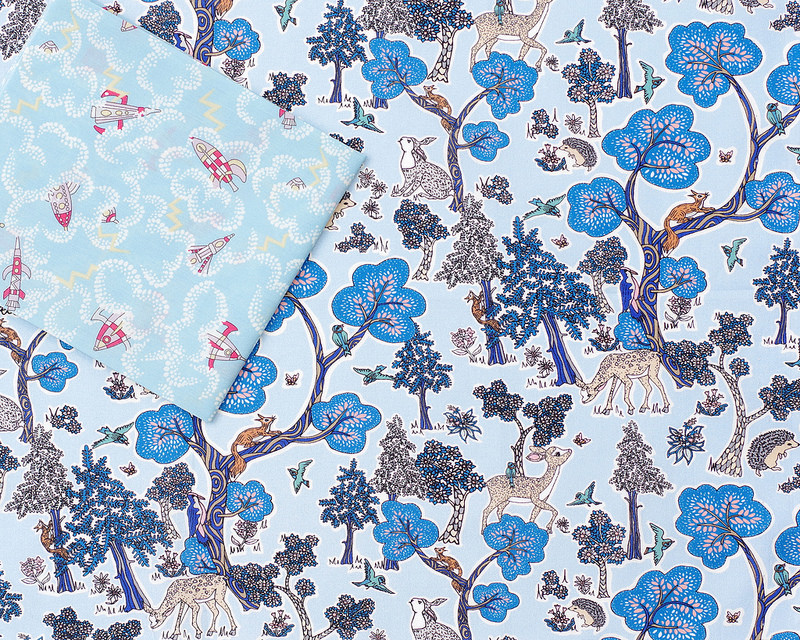 Liberty of London Tana Lawn - A Pocket Full of Memories ~ Rocket Dance | © Red Pepper Quilts 2018