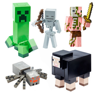 All Minecraft Survival Mode Figures