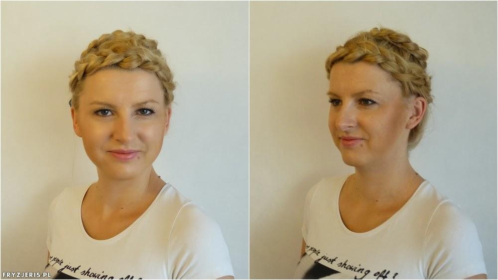 Fryzura Warkocz Dookoła Głowy Warkocz Korona Blog O Włosach