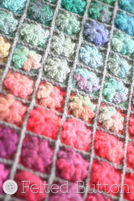 Painted Pixels Blanket Crochet Pattern