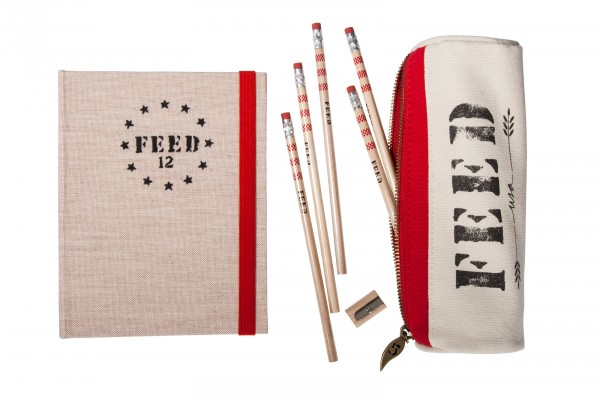 FEED USA + Target pencil case