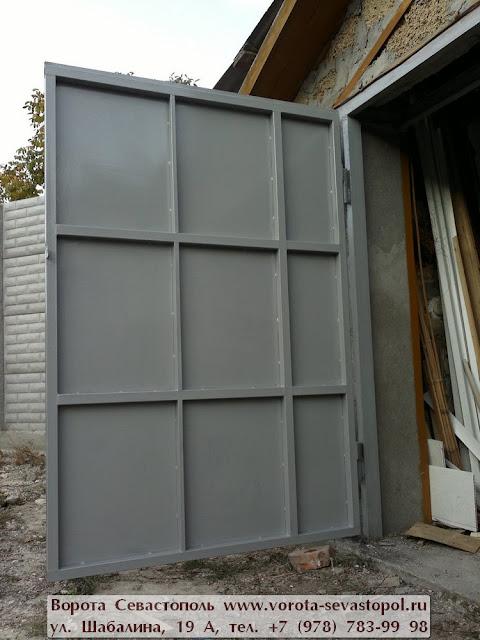 Вороты гаражные подъемные