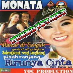 Monata Birunya Cinta (2015) Album cover