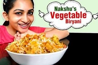 Nakshu's Vegetable Biryani | Homemade Recipes | Cook With Nakshu