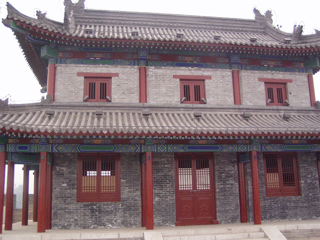 Xian wall fortress