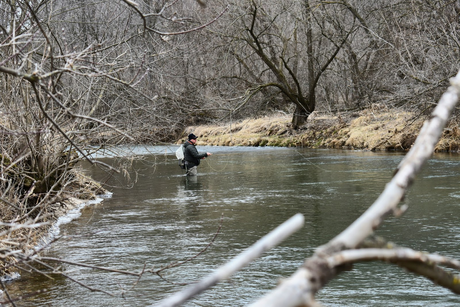 Carf outdoors mend it for Fly fishing wisconsin