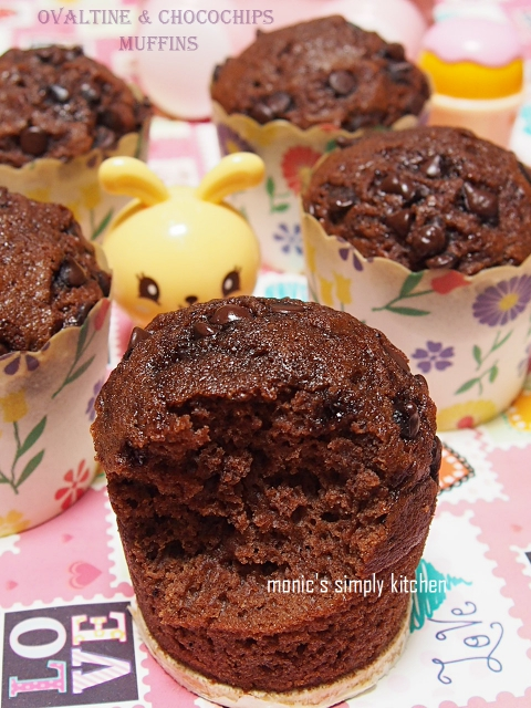muffin ovaltine chocochips