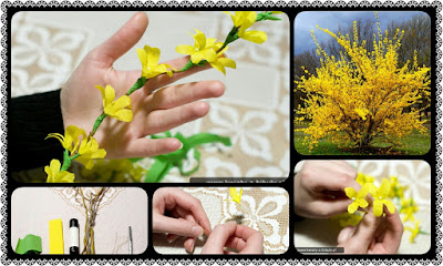How To Make Forsythia Flower Crazzy Crafting