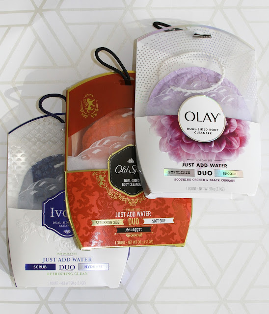 A new game changing product DUO body cleanser by Olay, Old Spice and Ivory #ShowerDUOver