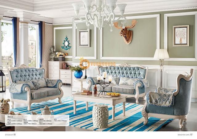 ghế sofa phòng khách nhập khẩu cao cấp