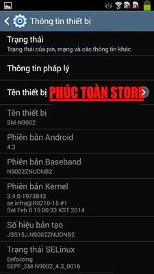 Tiếng Việt Samsung N9002 alt