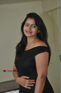 Telugu Actress Swathi Reddy Latest Stills in Black Gown  0045.JPG