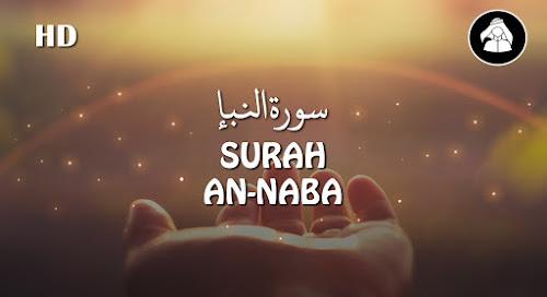 Murottal Surah An-Naba | Mohammad Aidul Azis ᴴᴰ
