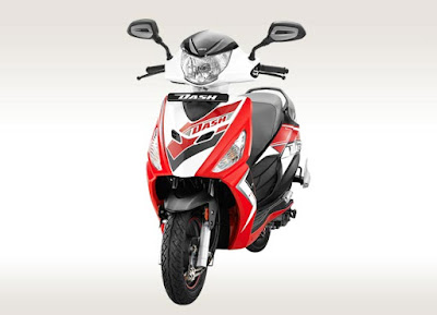 Hero Dash 110cc Scooter front view