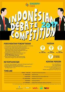 Lomba Debat Nasional 2017 di FISIPOL UGM Yogyakarta