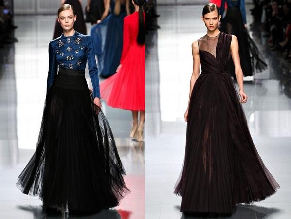 7c9457cdfca Модная одежда для женщин из коллекции Christian Dior осень-зима 2012-2013