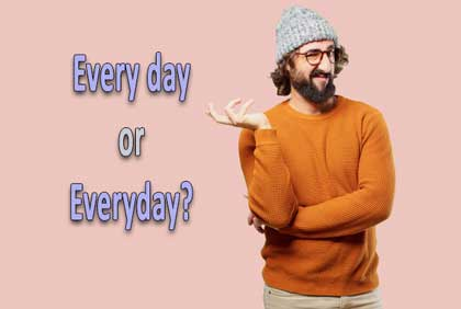 perbedaan every day dan everyday