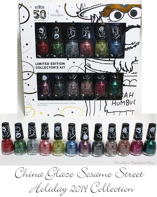 China Glaze Holiday Sesame Street Collection