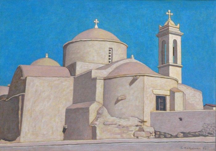 Греческий художник. George Kotsonis