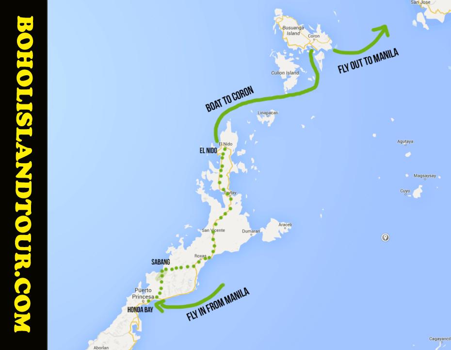 palawan-map