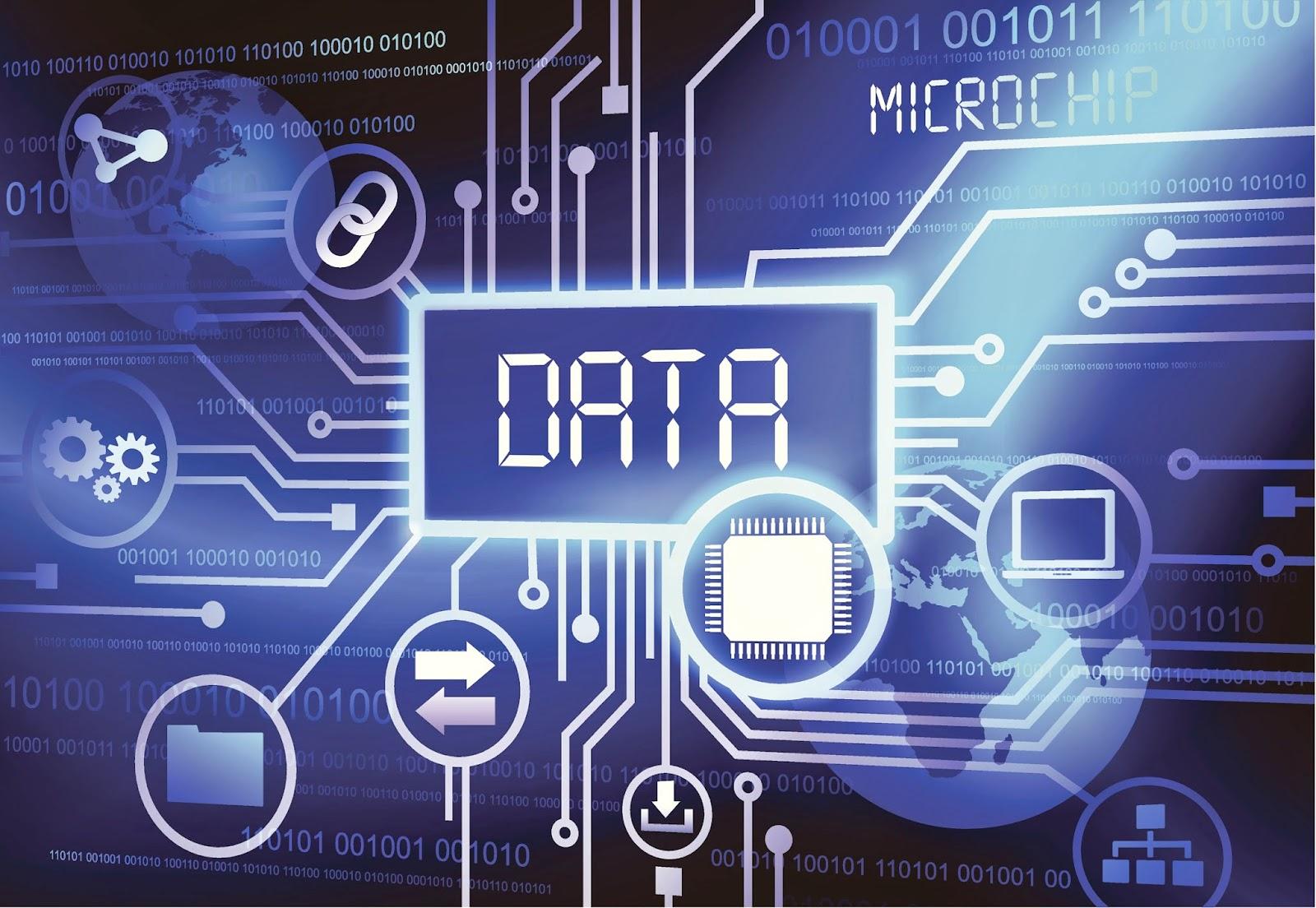 Visual representation of data system