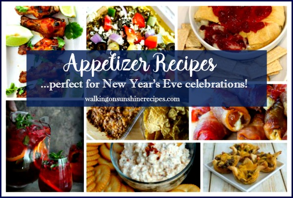 Appetizer Recipes from Walking on Sunshine