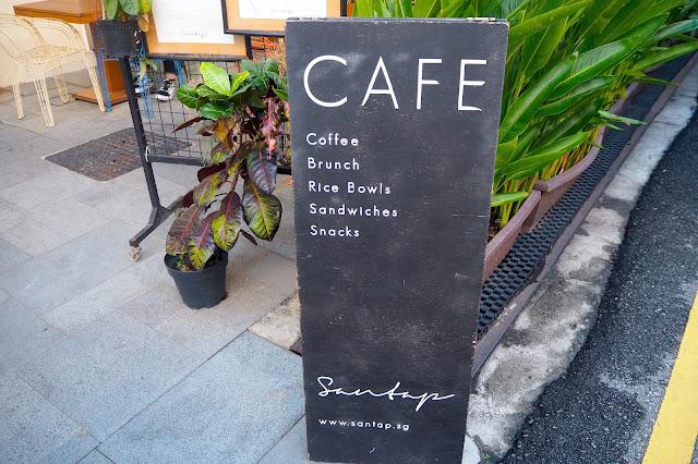 Santap Cafe Review Singapore