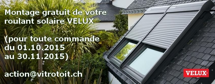 volet roulant solaire velux montage. Black Bedroom Furniture Sets. Home Design Ideas