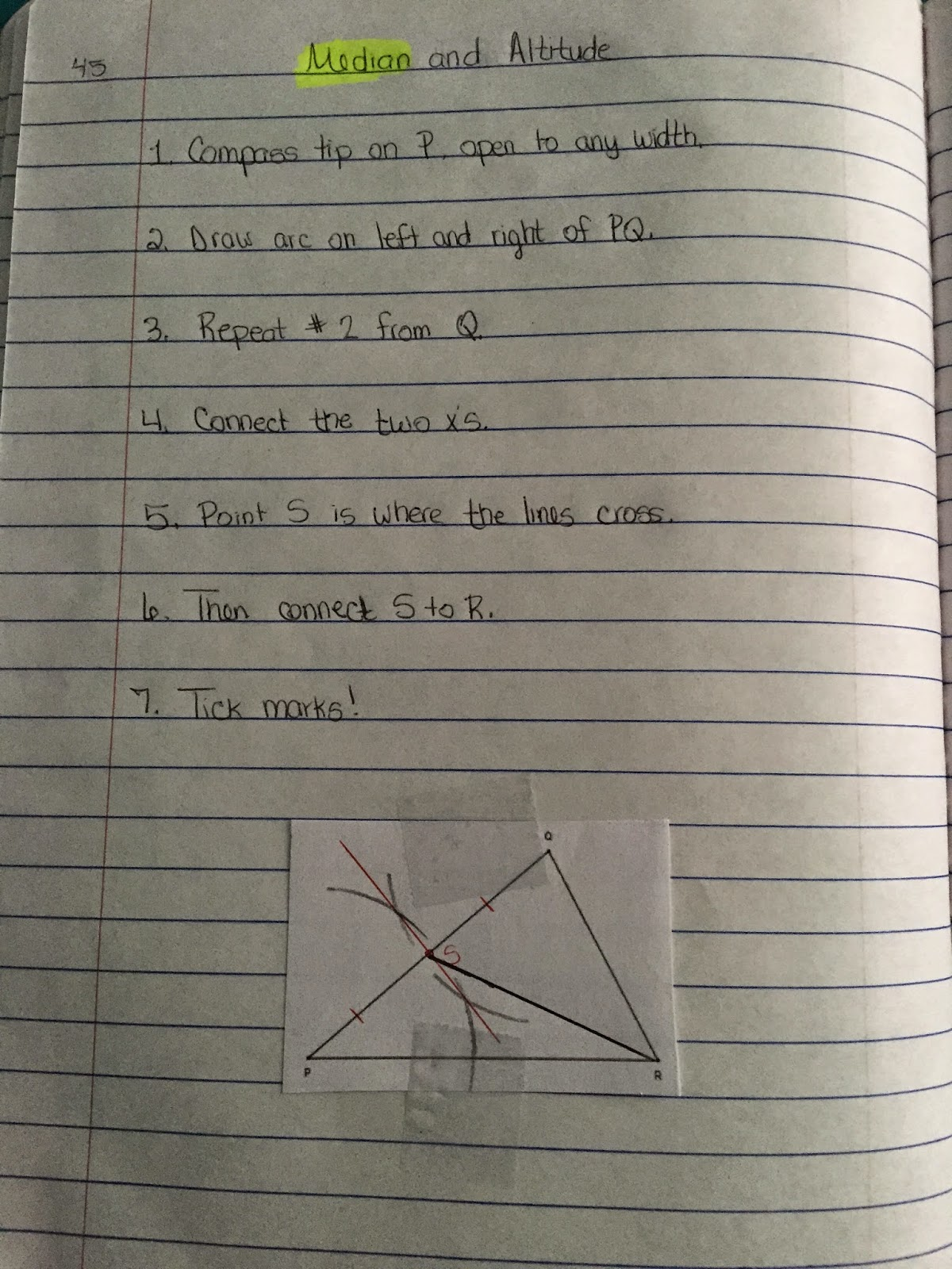 45 45 90 Triangle Worksheet A 7 3