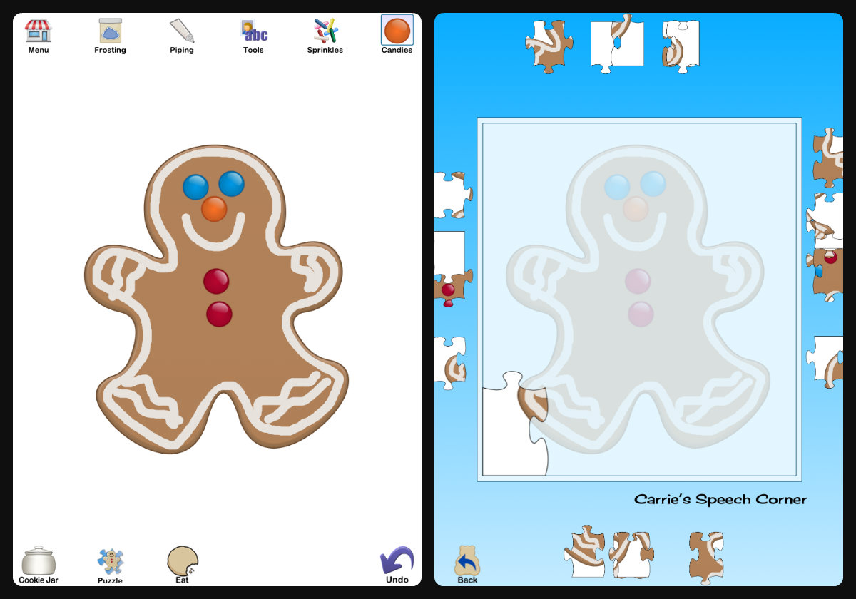 Carrie S Speech Corner Book Of The Week The Gingerbread Man