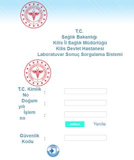 kilis+devlet+hastanesi+tahlil+sonuçları