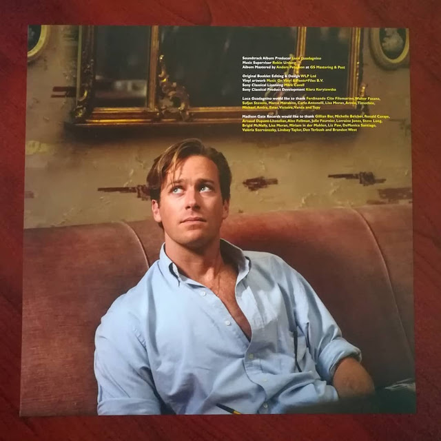 Call me by your name - édition vinyle